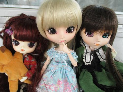 My dolls - Himeka, Lucia & Suiseiseki