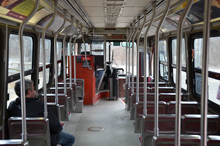 TTC articulated car no 4248
