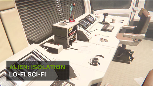 Alien: Isolation - Lo-fi Sci-fi