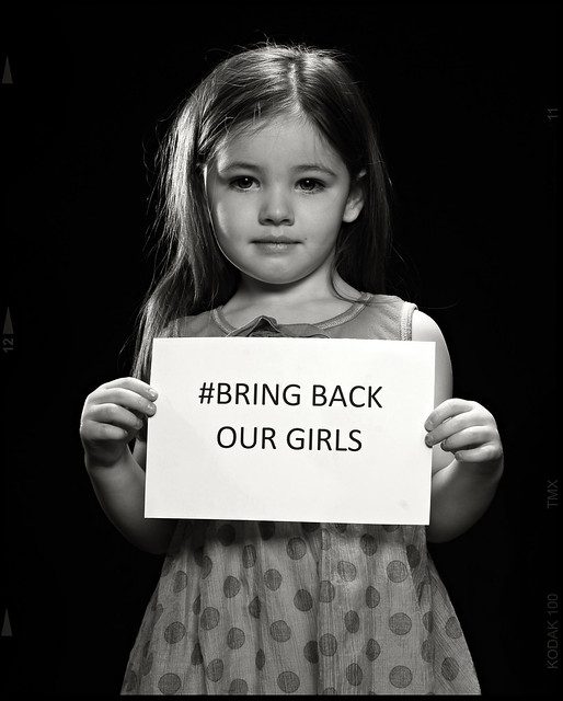 bring back our girls We'll be talking to one of the founders of the #bringbackourgirls campaign,  aisha yesufu what do you think we should ask her send us your questions.