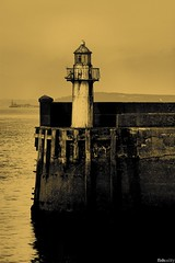 Lighthouse at Burntisland, Fife...