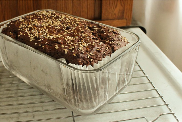 chocolate tahini bread-2