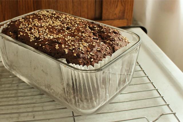 chocolate tahini bread-2
