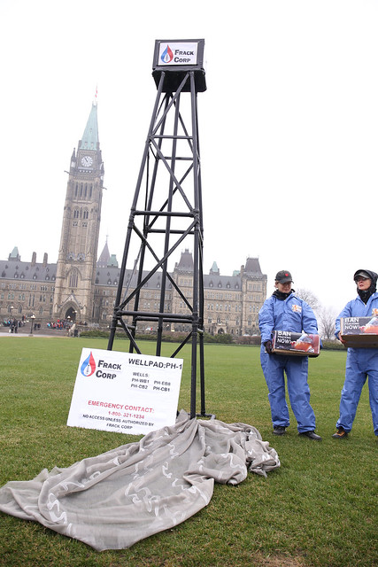 Fracking on Parliament Hill