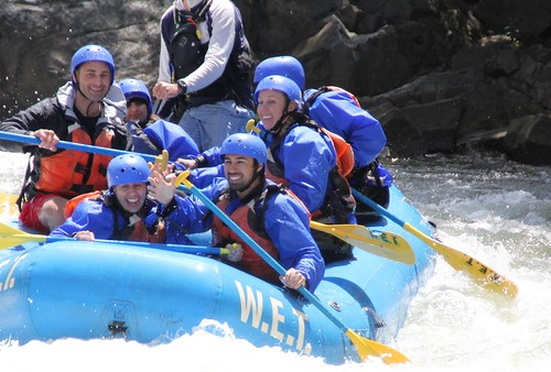 California Rafting South Fork American with WET River Trips