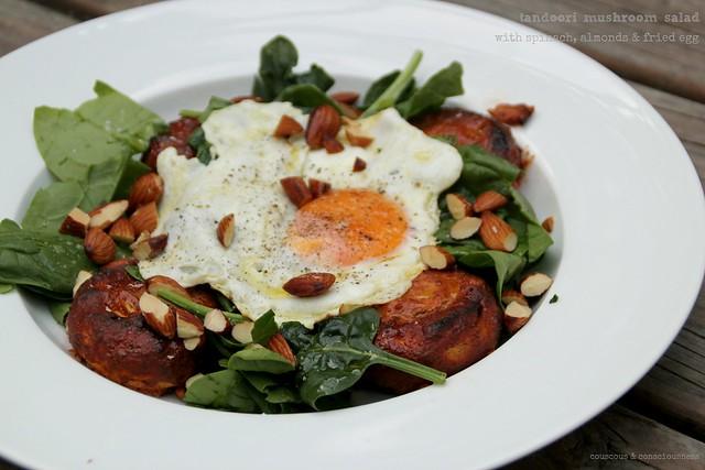 Tandoori Mushroom Salad 1