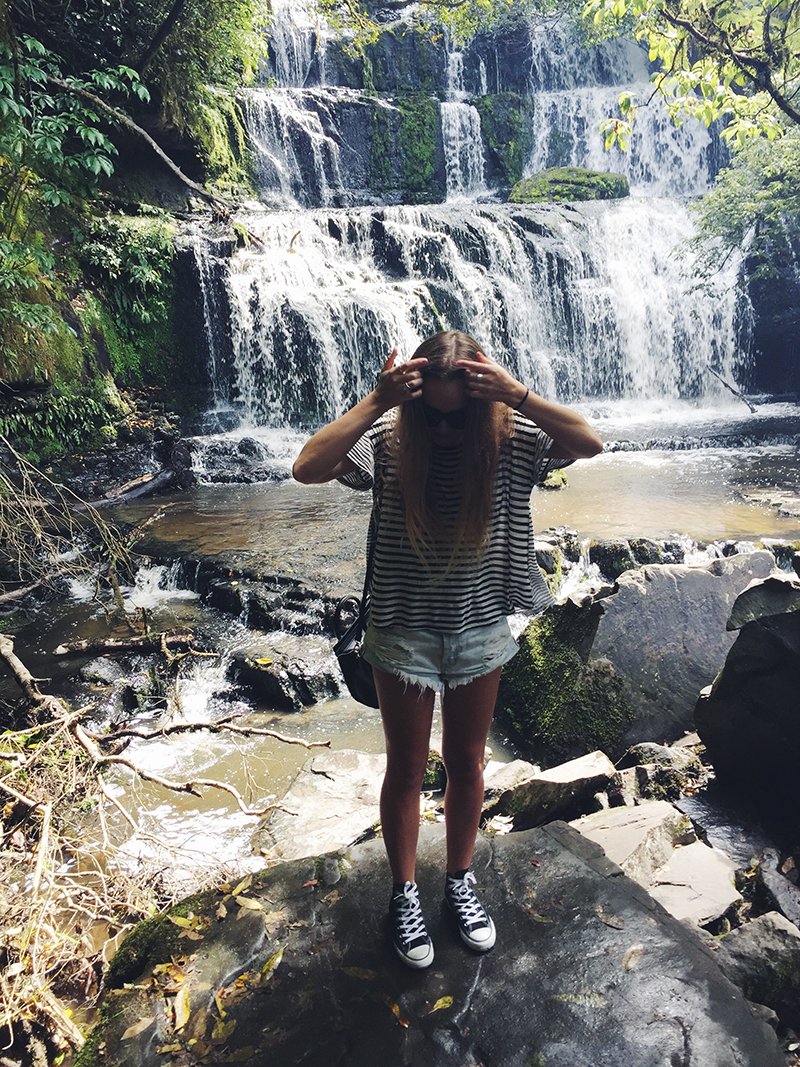 Stolen Inspiration Kendra Alexandra Blog New Zealand Kaka Point Nature One Teaspoon Shorts Converse Glassons Blogger
