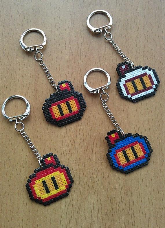 Llavero Bomberman