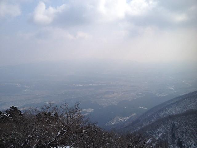 藤原岳 九合目からの眺望