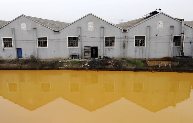 Ảnh môi trường ô nhiễm Trung Quốc