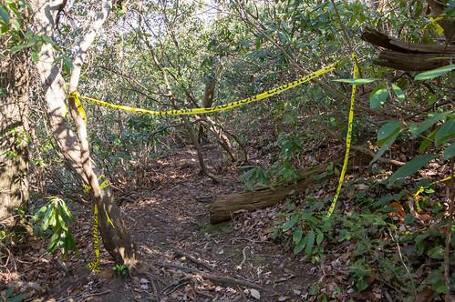 Rim of the Gap trail entrance