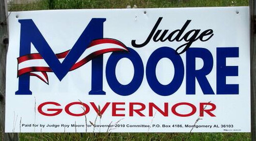 Roy Moore, Alabama Politician