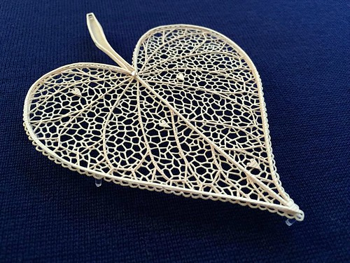 layered paper cut leaf