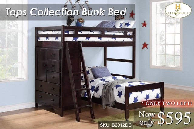 Tops Bunk Collection B2012DC