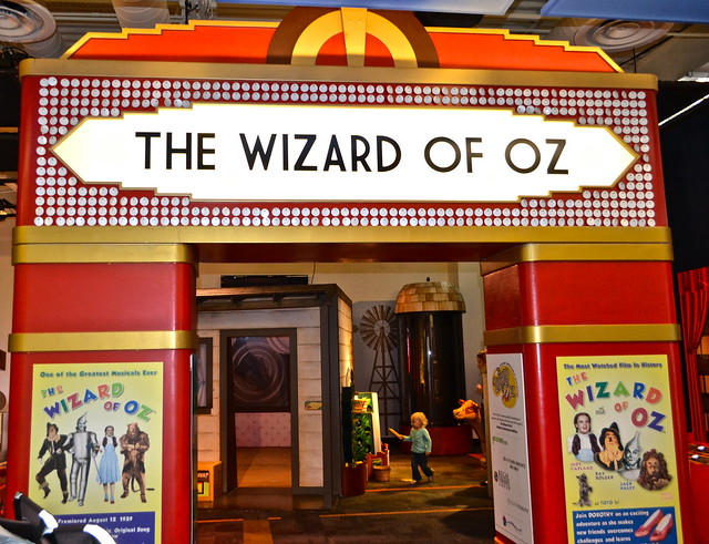 glazer children's museum - wizard of oz exhibi