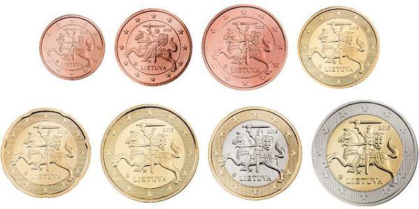 Sada 8 euro mincí Litva 2015