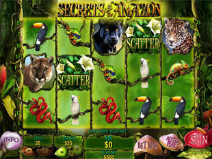 Secrets of the Amazon slot game online review
