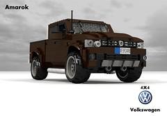 VW Amarok 4x4 Highline Pickup