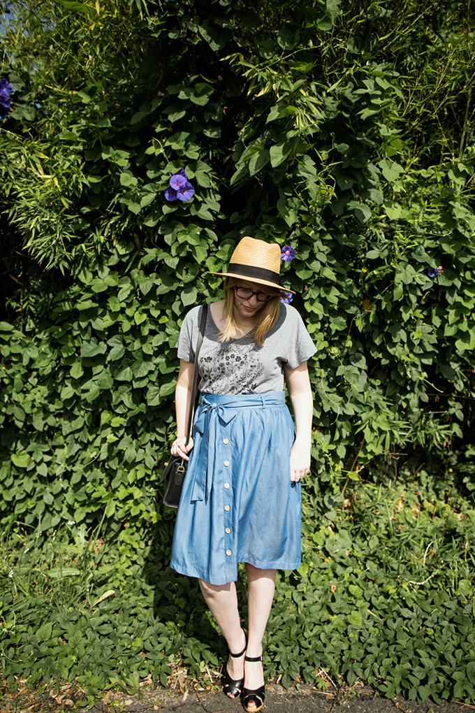 modcloth chambray skirt6