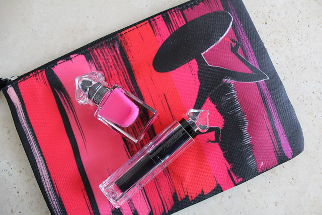 Guerlain La Petite Robe Noire Lipstick and Nail Polish review and swatches