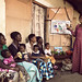 Betty teaches mothers with small children about nutrition