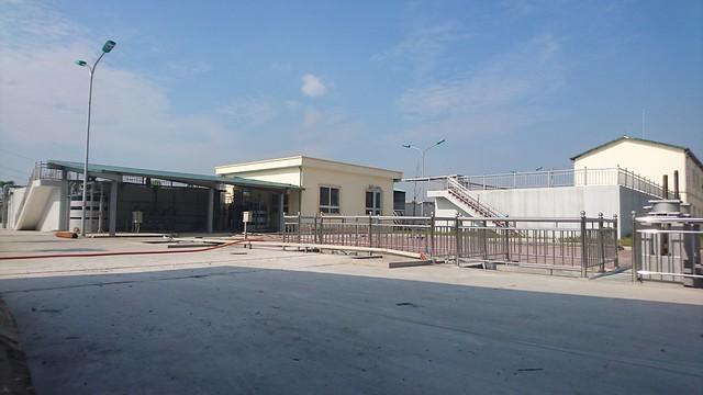 Nhà máy xử lý nước thải Phong Khê (Bắc Ninh)