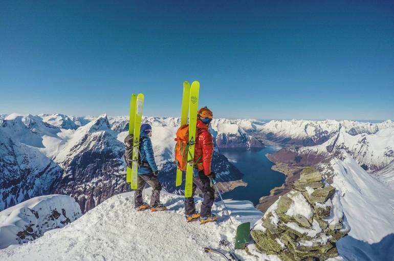 Jura a Ondra Švihálkovi - sedm týdnů na skialpech v Norsku