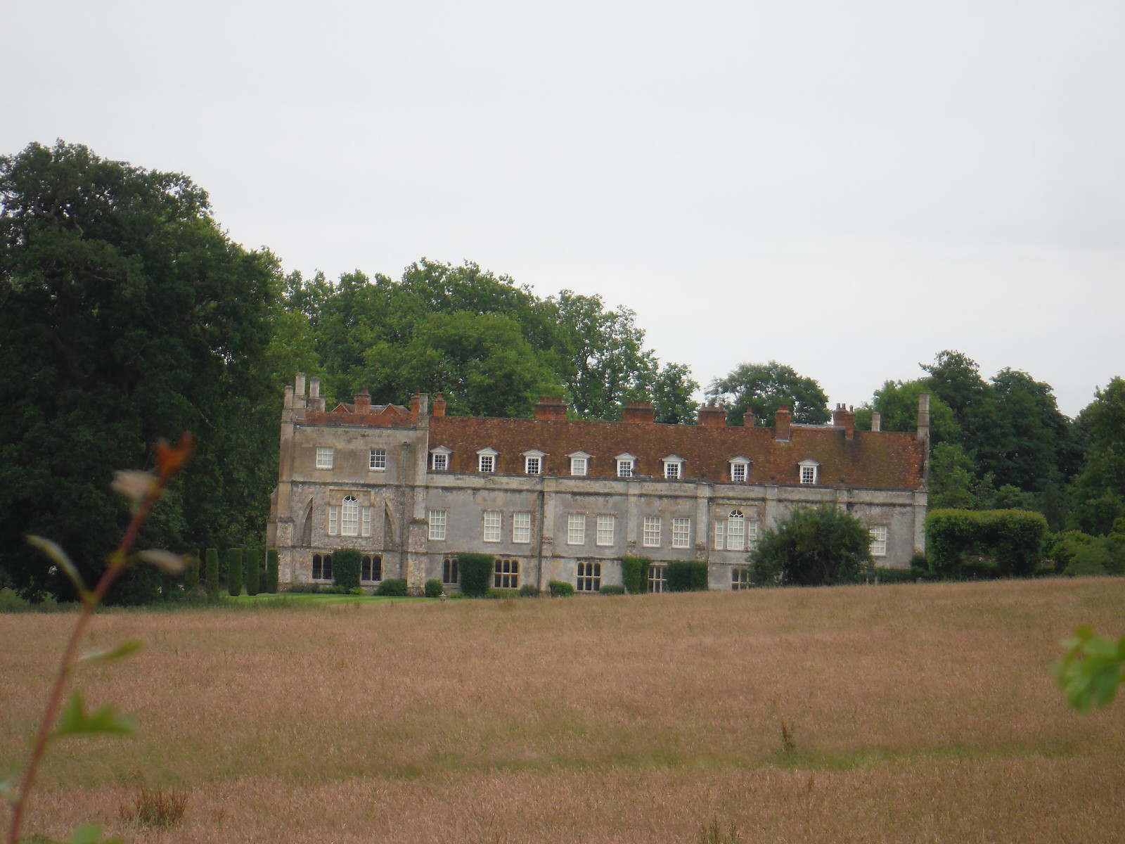 Mottisfont Abbey (rear view) SWC Walk 265 - Dean to Mottisfont and Dunbridge