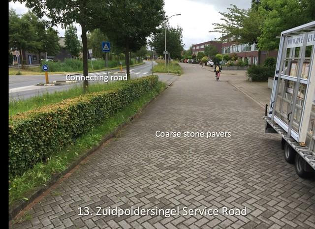 13 - Zuidpoldersingel Service Road