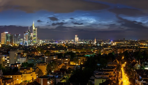 Noctilucent Clouds above Frankfurt