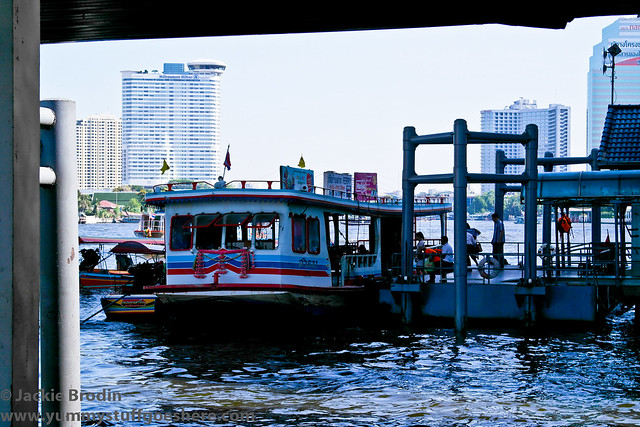 Ferry ride Sathorn Pier