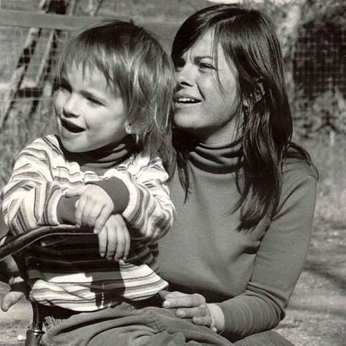 Mom and me. ❤✨❤