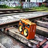 #BoomCase x #PumaTheQuest in #Paris - @pumathequest - #traintracks #standbyme #graffiti #nofilter