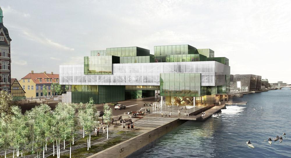 Bryghusprojektet in Copenhagen, Denmark design by OMA