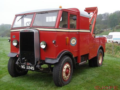 Leyland Beaver Recovery Truck