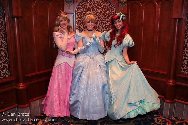 Meeting the Princesses