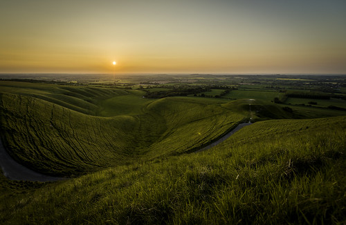 uk greatbritain sunset england landscape nikon unitedkingdom gb oxfordshire hdr highdynamicrange whitehorsehill d800 uffington dragonhill fav10 themanger nikond800