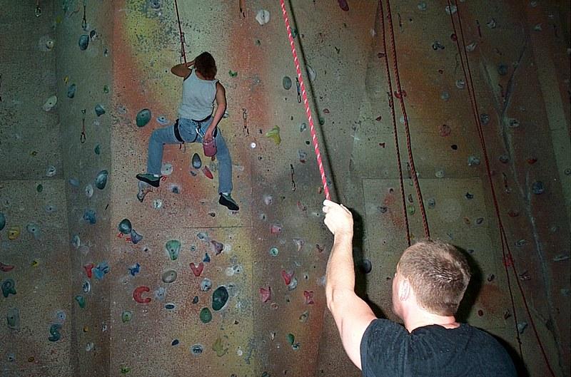 Climbing with Ahu