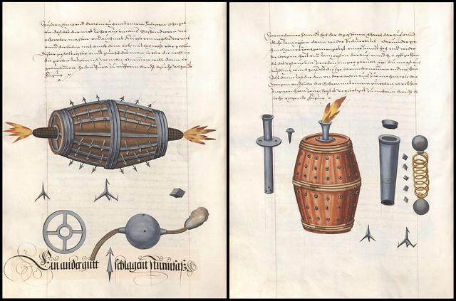 Feuerwerksbuch 512 + 514
