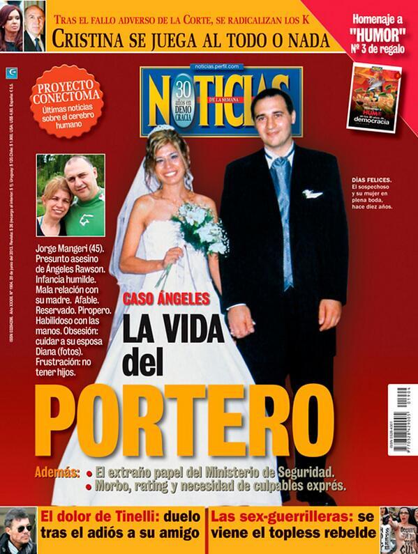 el portero en la revista Noticias