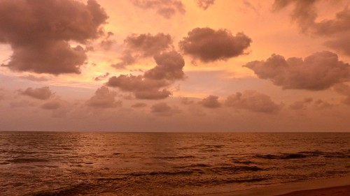 sunset sea beach rain weather clouds laut atmosphere monsoon srilanka negombo irreal earthasia