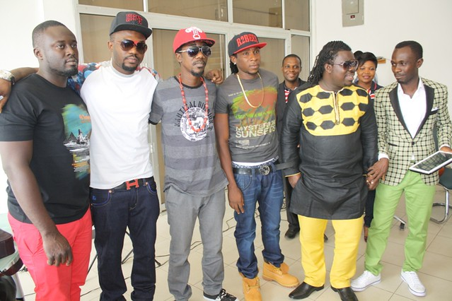 R2bees presented with Ghana Music Awards 'Artiste of the Year' car (13)