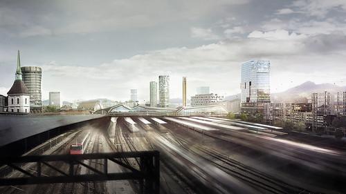120425-Visualisierung-Buchner-Bruendler-Architekten-Basel-Staedtebau-Sudie-Hochstrasse-Quartierabschluss-Gleisfeld-Sued-SBB-cam2