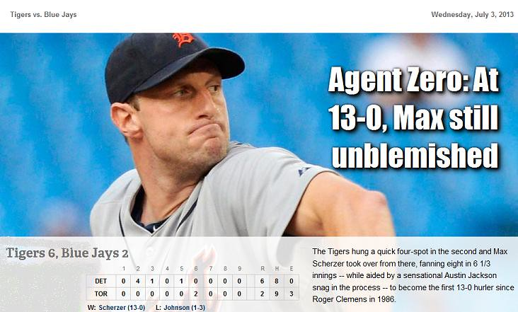 2013 DETROIT TIGER SCHEDULE AND RESULTS - Page 3 9206613954_65da4bbe58_b