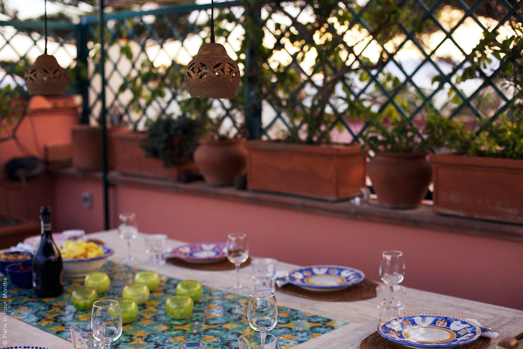 A Gorgeous Little Terrace in Terracina