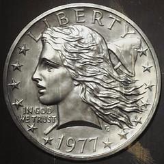 Gasparro Liberty dollar