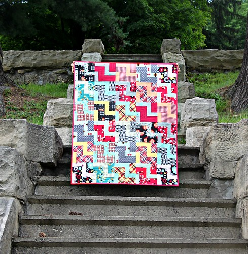 Nordika Zig Zag Quilt by maureencracknell