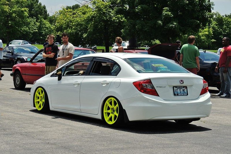 Photos RimsWheels On Your Th Gen Civic Show Me Some Pics - Show me rims on my car