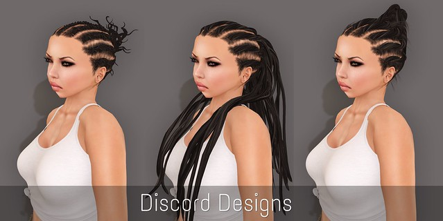 Hair Fair 2013 Discord Designs