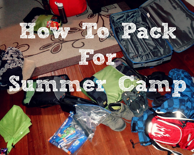 How To Pack For Summer Camp